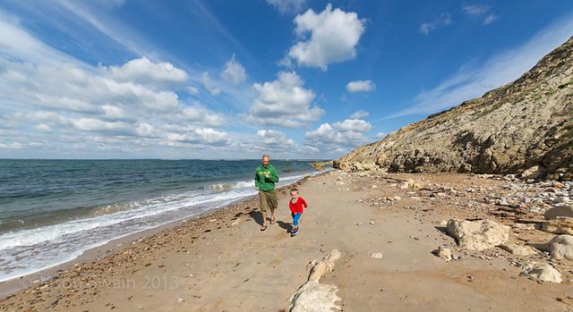 Exploring West Wight Beaches - Alum Bay - IMG_2958