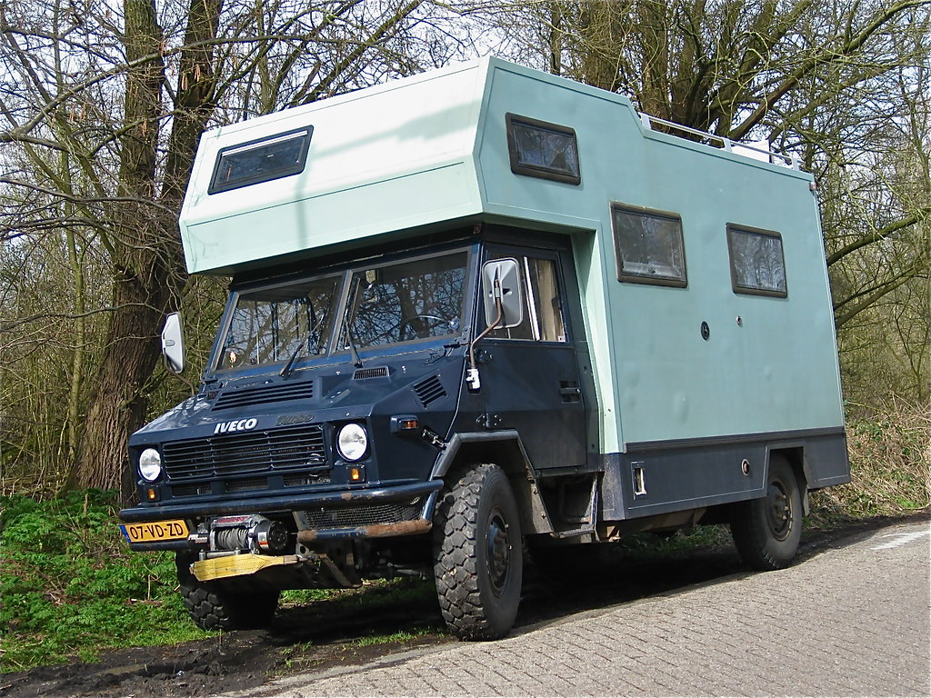 1991 IVECO Turbo 40-10 1W/35 4x4 Campervan | Rough 4x4 well