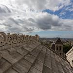 Roof line of Sacré-Cœur