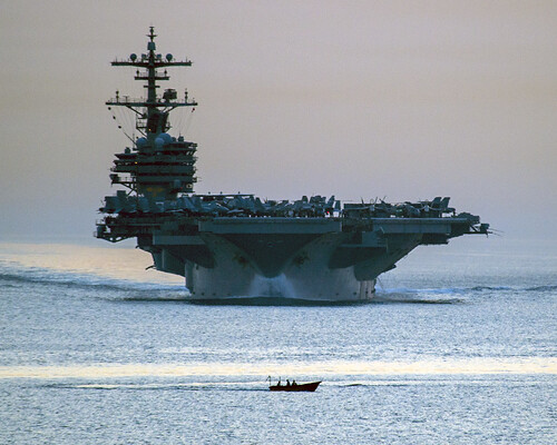 USS George H.W. Bush is underway. | by Official U.S. Navy Imagery