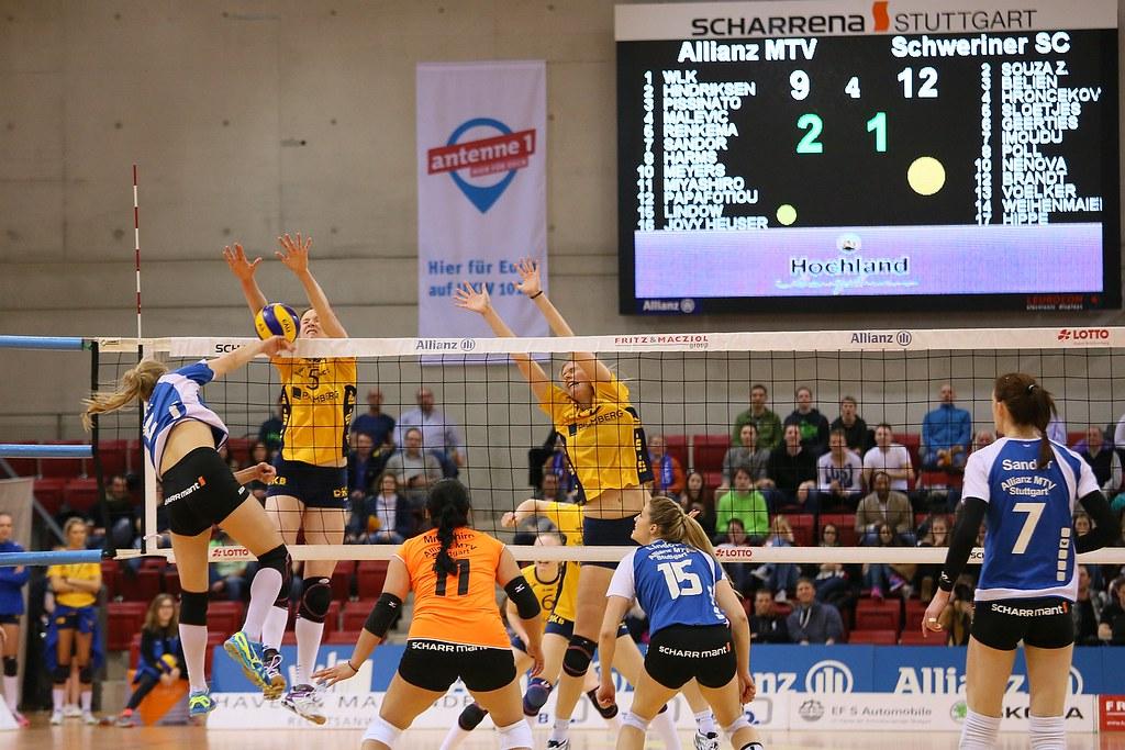 volleyball schwerin stuttgart