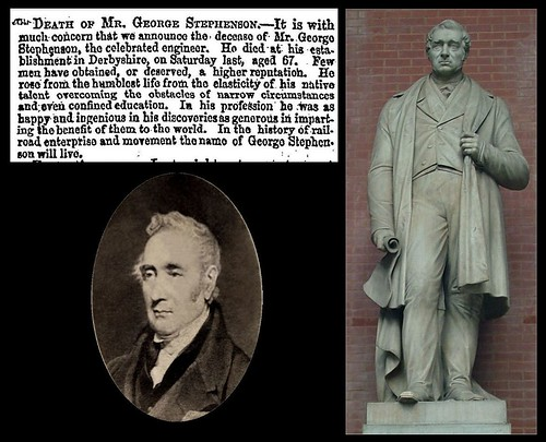 12th August 1848 - Death of George Stephenson | by Bradford Timeline