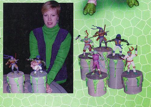 LEE'S TOY REVIEW #xx ::  pg.x TOY FAIR '98 - PLAYMATES'S 'ZORRO' & NT: THE NEXT MUTATION. Turtleflage & SHADOW NINJAS / Unreleased 'SHADOW NINJA TMNTS' (( xx 1998 )) by tOkKa