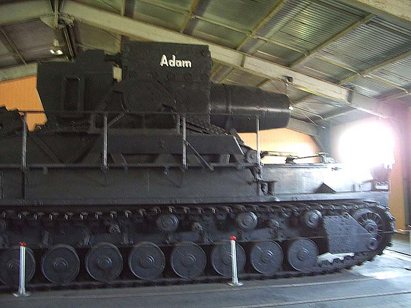 600mm Adam Self-Propelled Mortar 1