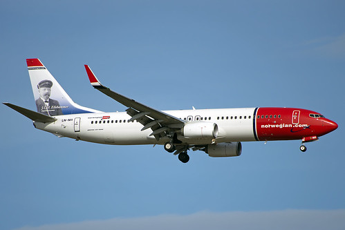 Norwegian LN-NII arriving OSL May 5th 2016 | by Ole Johan Beck
