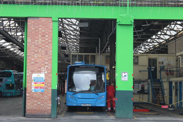 Nottingham City Transport 386