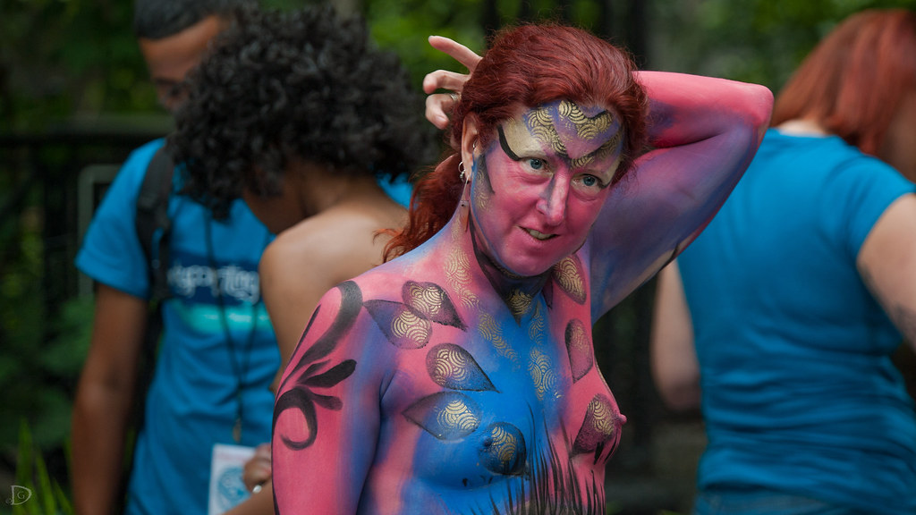 Body Painting New York 2019 - The Best Picture of Painting