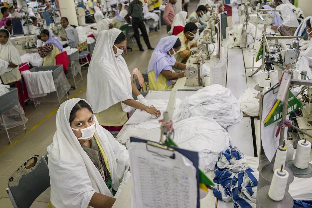 Viyellatex Factory | In the foreground, Roksana Khatun, a se… | Flickr