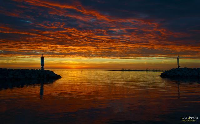 Port Elgin Beach Sunset (Explore #285 - May 10, 2013)