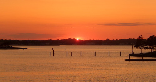 sunset jerseyshore shrewsburyriver