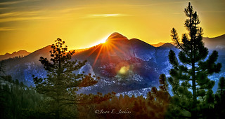 Mount Starr King Sun-rays   by j-dub1980(THANK YOU FOR 100k+ Views)