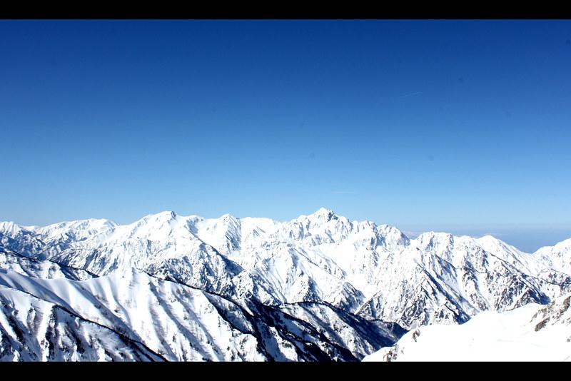 唐松岳からの立山連峰