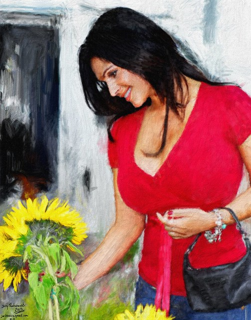 Denise Milani 1011 Sunflower
