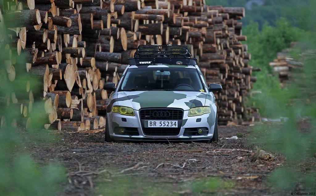 the best attitude best sell buy best Audi A4 B7 camo | Jonatan Tangen Olsen | Flickr