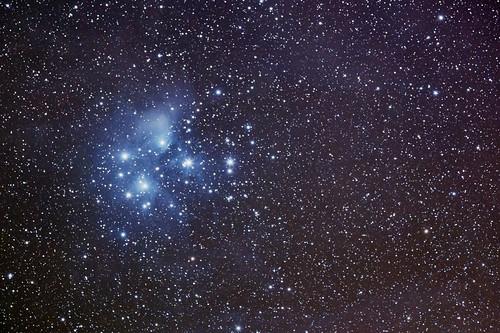 Pleiades - M 45   by Sebapol