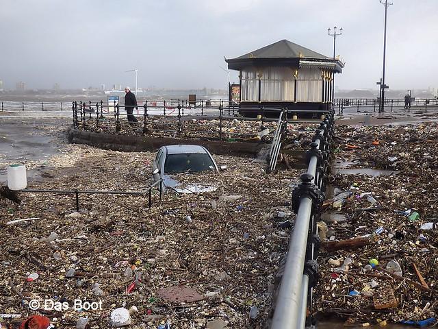 New Brighton Storm Damage  [Explored]