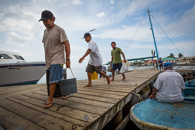 Fisheries in Belize 09