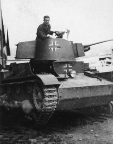 Polish technics in germans units (2)