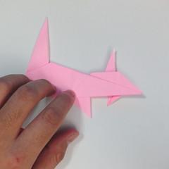 สอนการพับกระดาษเป็นลูกสุนัขชเนาเซอร์ (Origami Schnauzer Puppy) 059