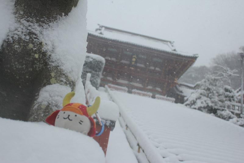 雪の鎌倉_22