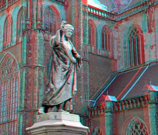 Statue LaurensJanszoon Coster 3D