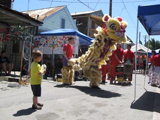 First Lion Dance?