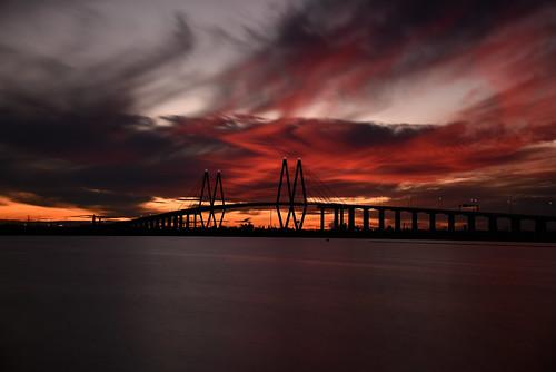 city usa night landscape lights texas tx houston 051 fredhartmanbridge thehaif 31662 baytownmarina 20150124