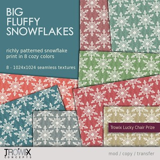Trowix - Big Fluffy Snowflakes Vend