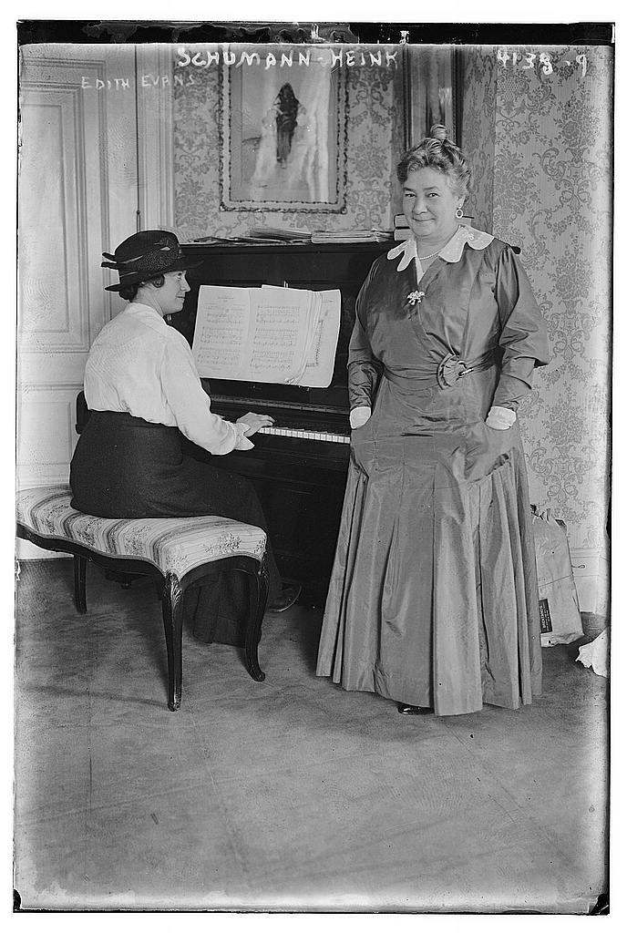 Edith Evans, Schumann-Heink (LOC)