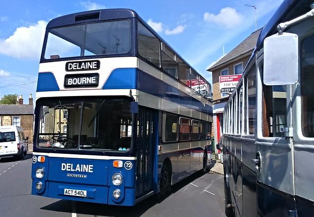 Delaine 72, Leyland Atlantean, ACT 540L.