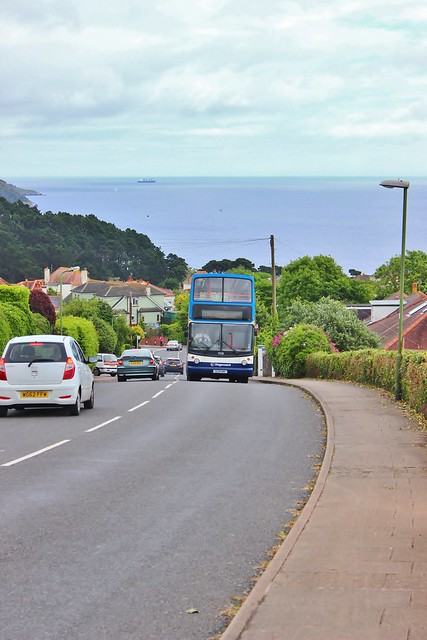 Stagecoach South West 17038 S838BWC - Upper Headland Park Road