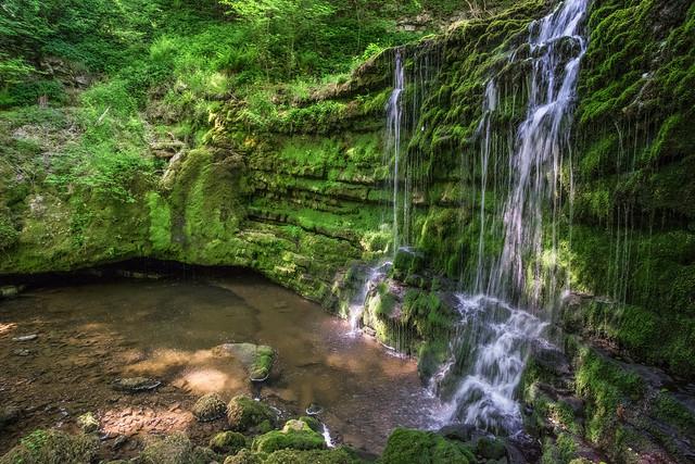 Hidden Waterfall .. North Yorkshire