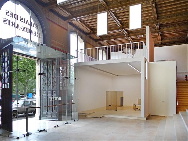 Le hall d'entrée et le Belvédère (palais des Beaux-Arts, ENSBA)