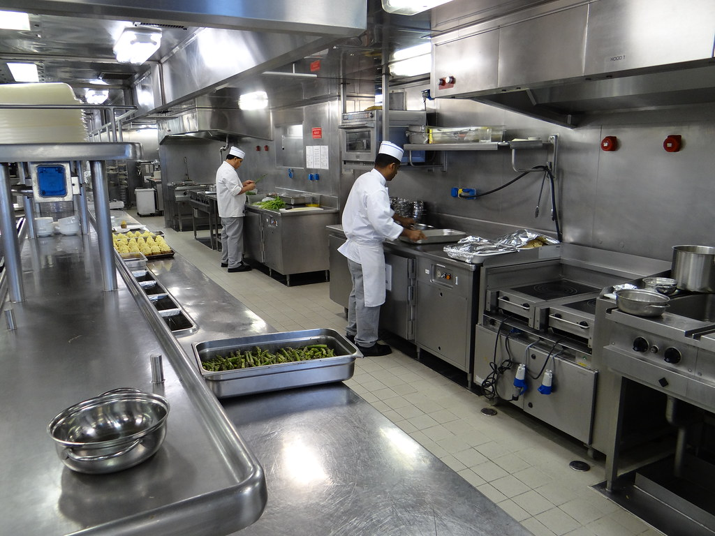 Silversea Silver Whisper Cruise Ship Kitchen Galley Flickr