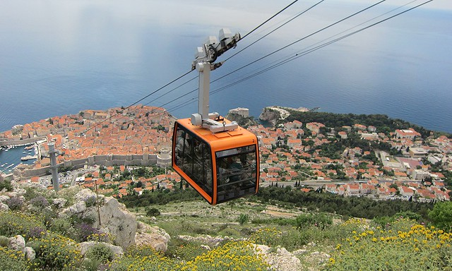 Dubrovnik Cable Car 2013