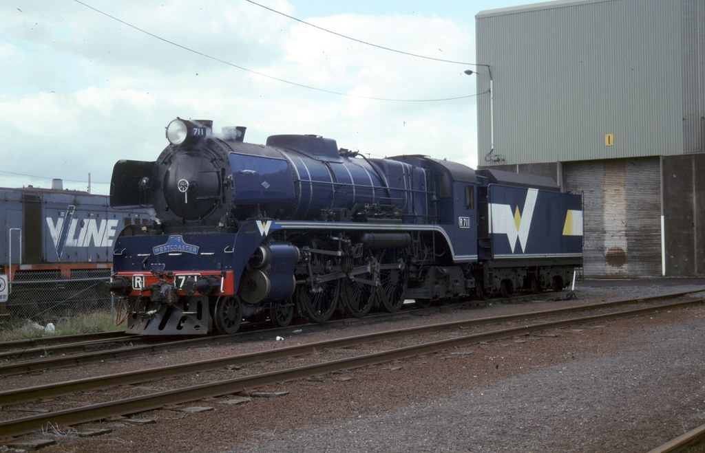 R711 at South Dynon workshops by Alan Greenhill