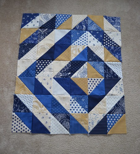 First quilt top | by MoulinRogue