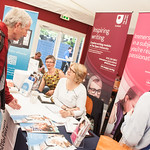Open University Open Day | The friendly tutors and advisors from Open University Scotland talk to visitors about study opportunities © Alan McCredie