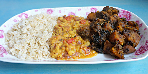 Plate of Curry -edit-001