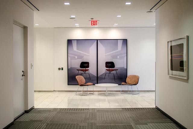 Industrial office interiors can seem so desolate, Toronto.