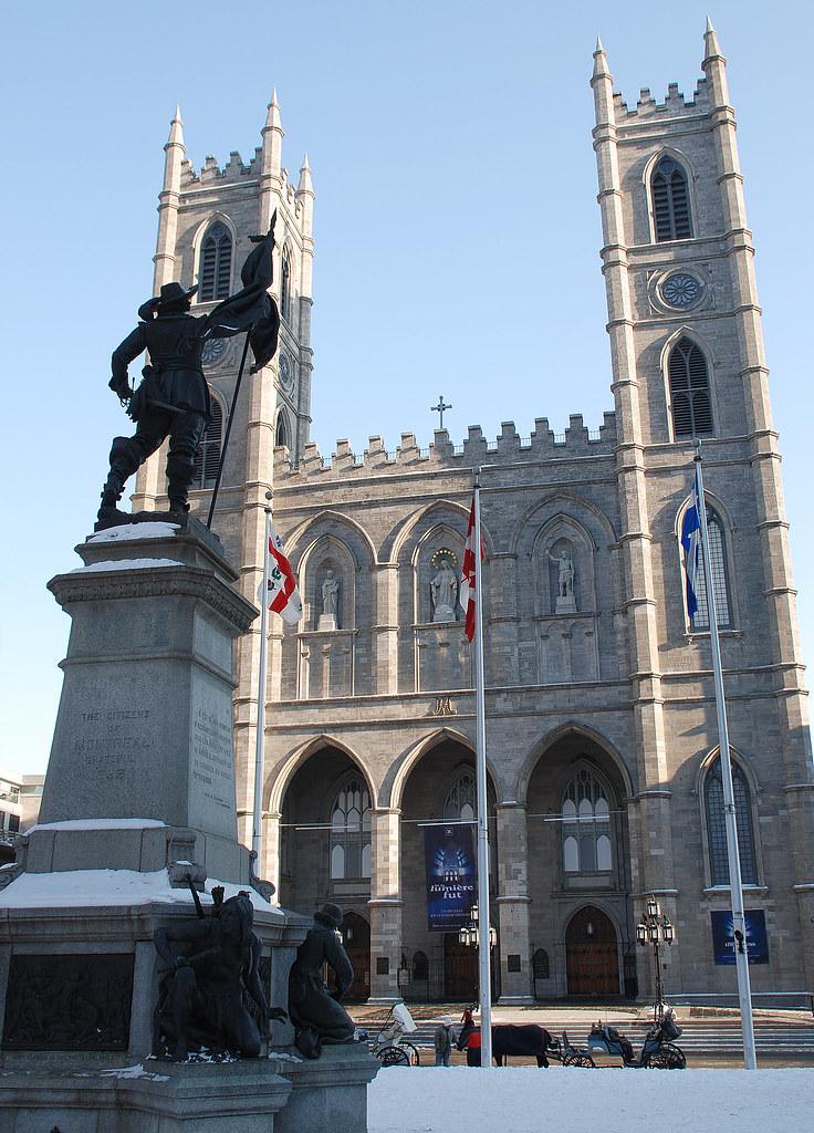 Notre Dame in Winter300pxls