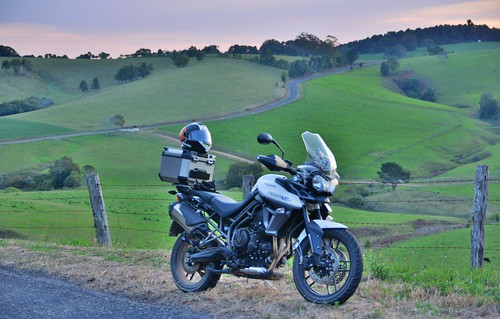geotagged australia motorbike motorcycle newsouthwales aus triumphmotorcycles xrx comboyne triumphtiger triumphtiger800xrx geo:lat=3160352123 geo:lon=15243120432 innesviewrd