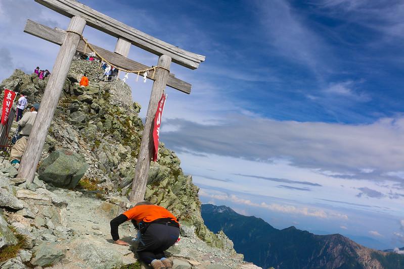 立山 雄山 山頂神社