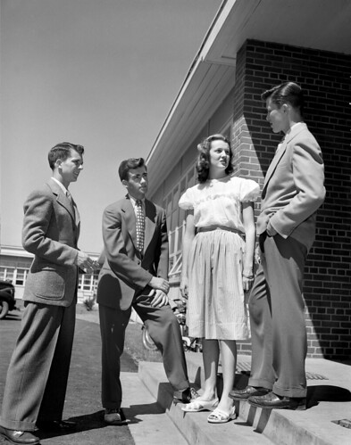Oak Ridge High School Student Council 1947 | by doe-oakridge