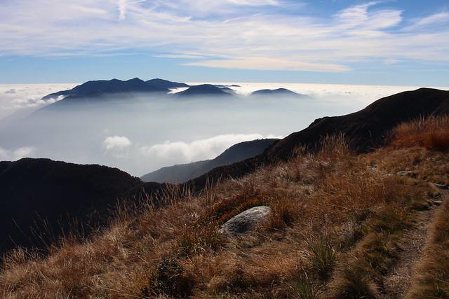 Blick nach Süden zum Monte Tamaro