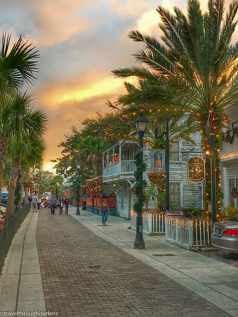 Christmas Lights in St. Augustine, Florida