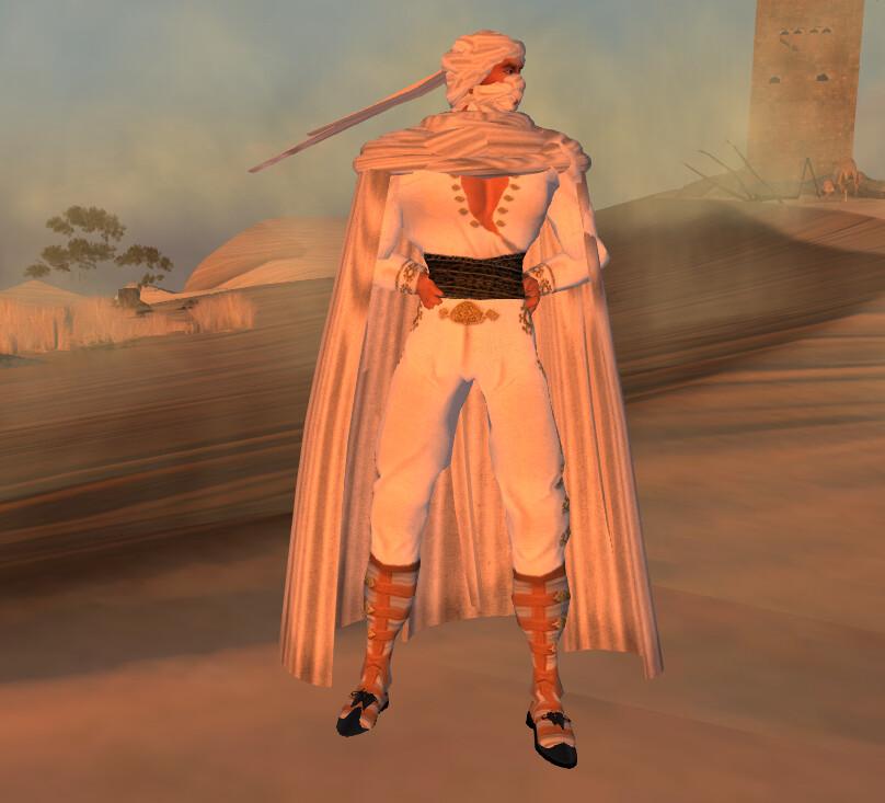 Avatar 2 Location: Location: Second Life, Devin-2. Model: Avatar Ward