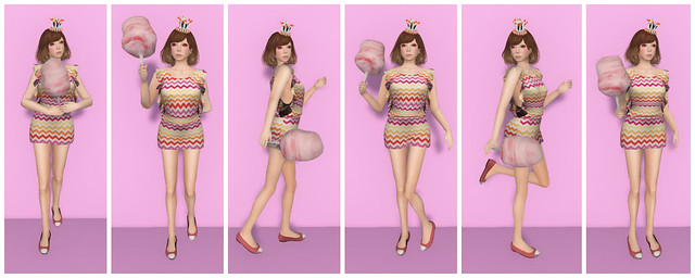 Poseology -Cotton Candy Fatpack Collage