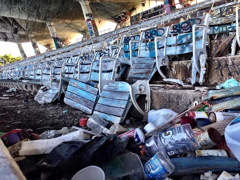 Miami Marine Stadium - on it's way to restoration