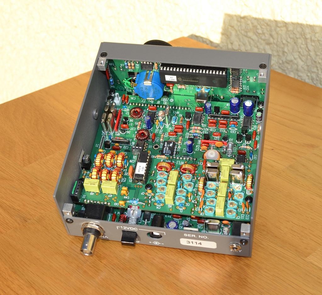 2W0DAA ELECRAFT K1 CW QRP TRANSCEIVER INTERIOR VIEW   Flickr